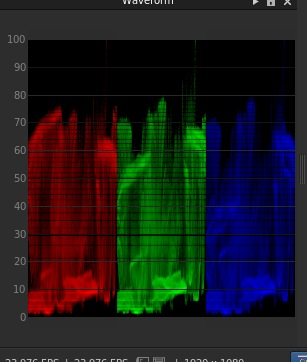 The original waveform