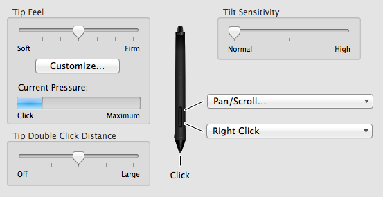Pen Settings